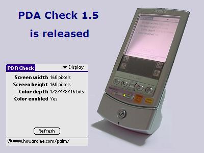 PDA Check 1.5 is released, tested with Palm OS 5